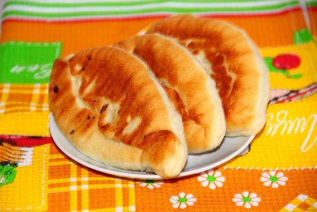 Жареные пирожки с картошкой пошаговый рецепт с