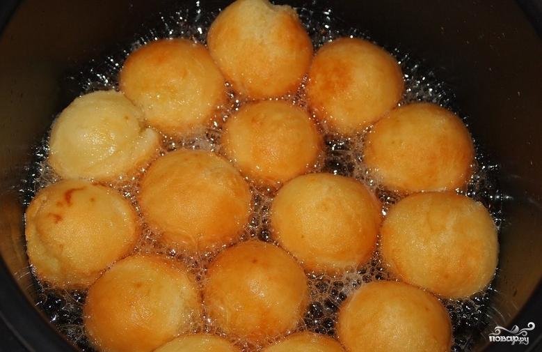 Творожные шарики на сковороде рецепт с пошагово