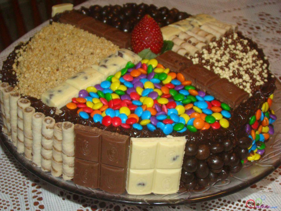 Красивые торты на день рождения в домашних условиях