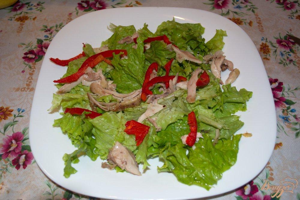 Вкусный и легкий салат на праздник