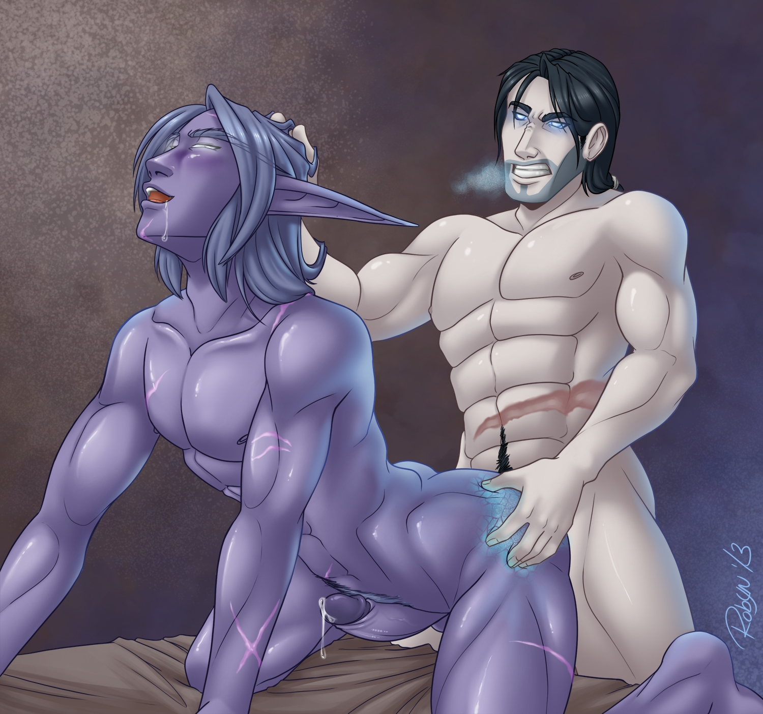 World of warcraft gay sucking worgen dick nsfw tube