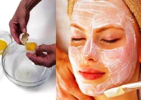 Как сделать маску для лица с яйцом