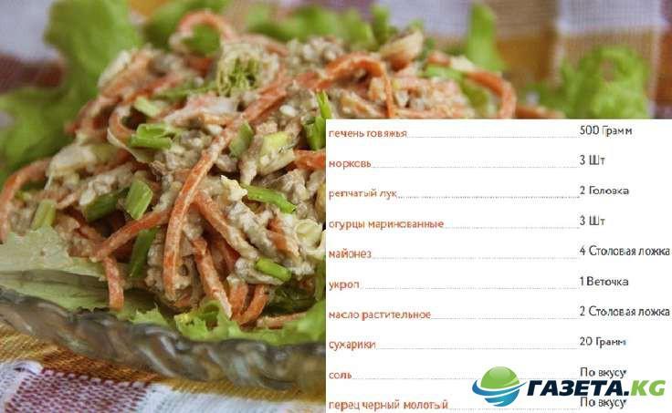 Салат из говядины рецепт с очень вкусный боярский