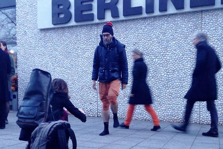 Саша Пас в Берлине