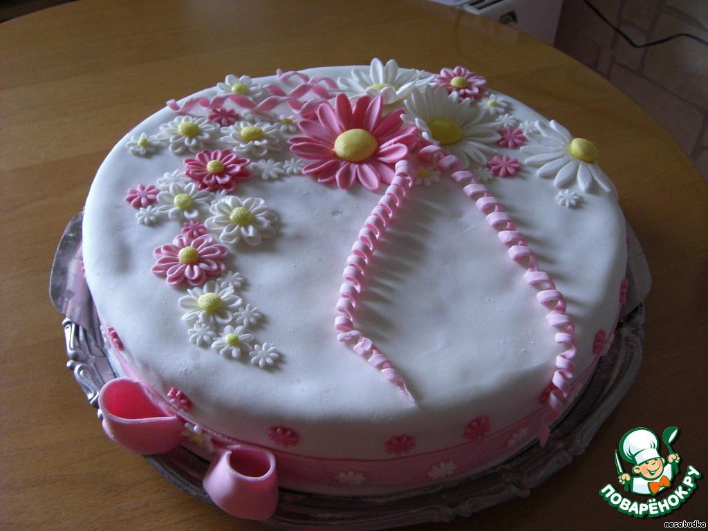 Как украшать торт с мастикой в домашних условиях