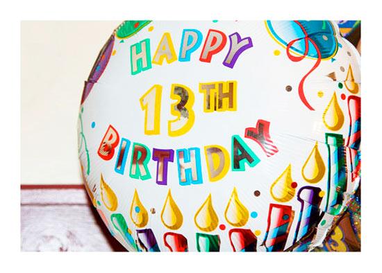 Открытки с днем рождения 13 лет подруге 2