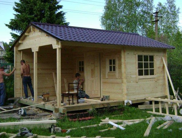 Дачные домики строить своими руками