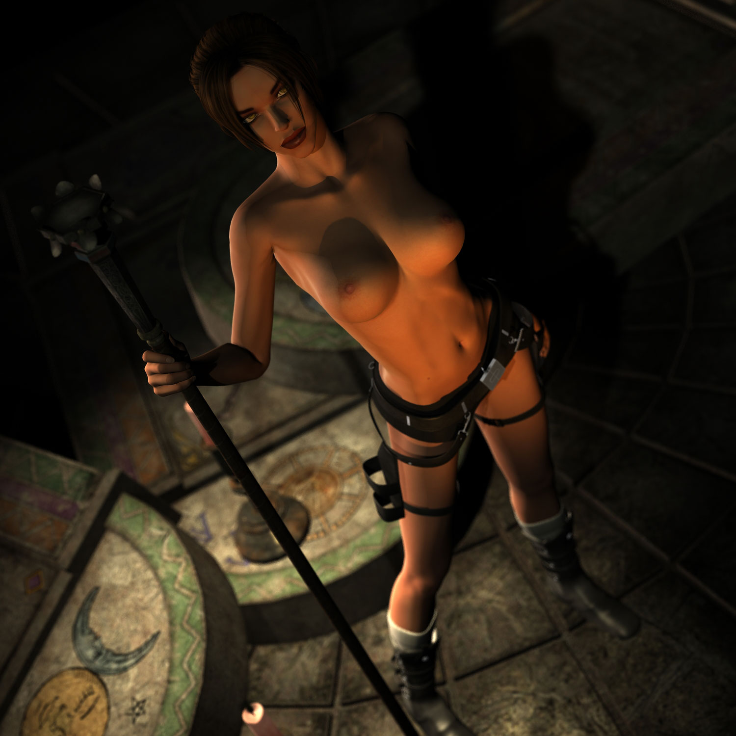 Tomb raider boobs nude animation erotic wifes