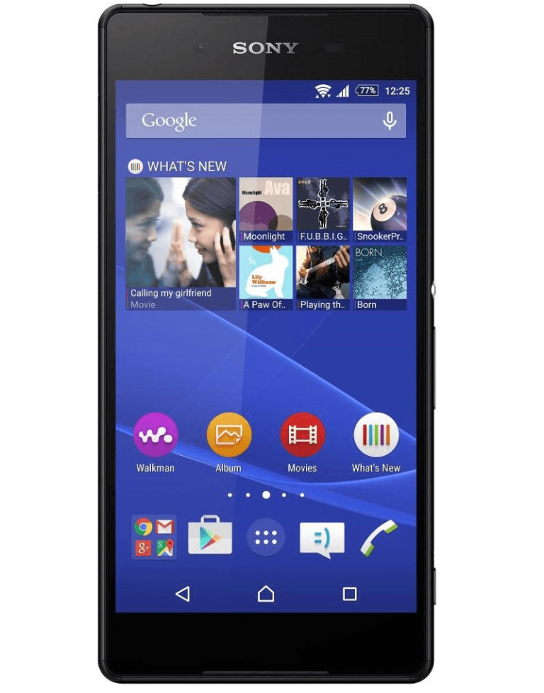 Download product information for your Xperia- Sony