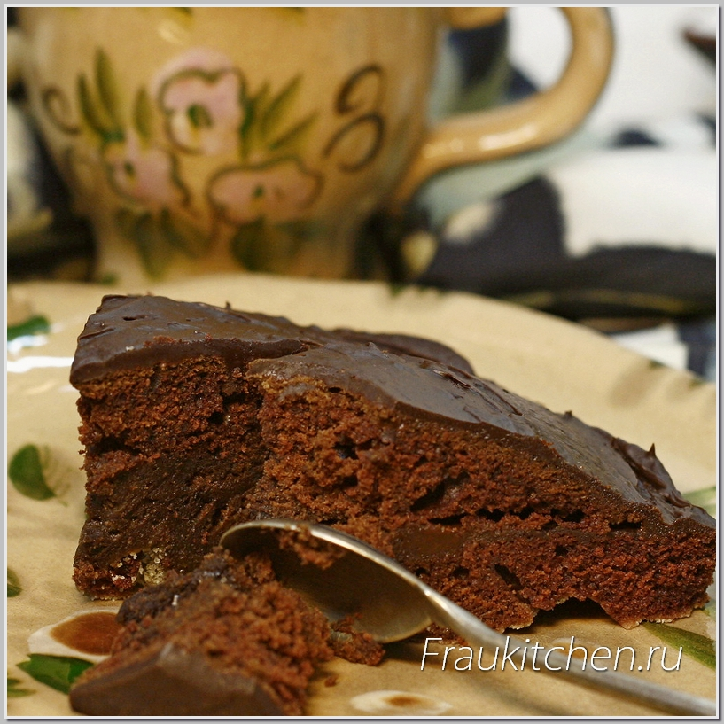 Быстрый торт с шоколадом рецепт