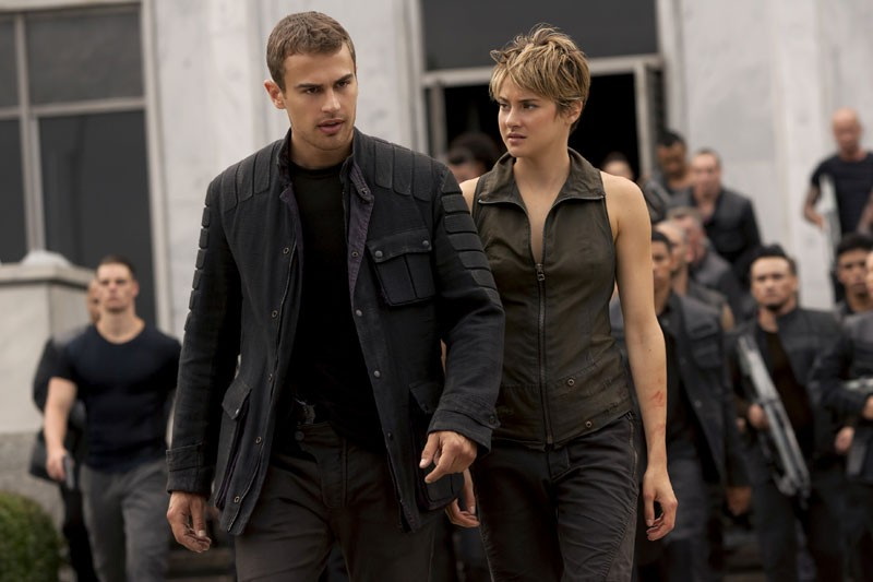 Insurgent 2015 English Movie 300MB HDRip 480P