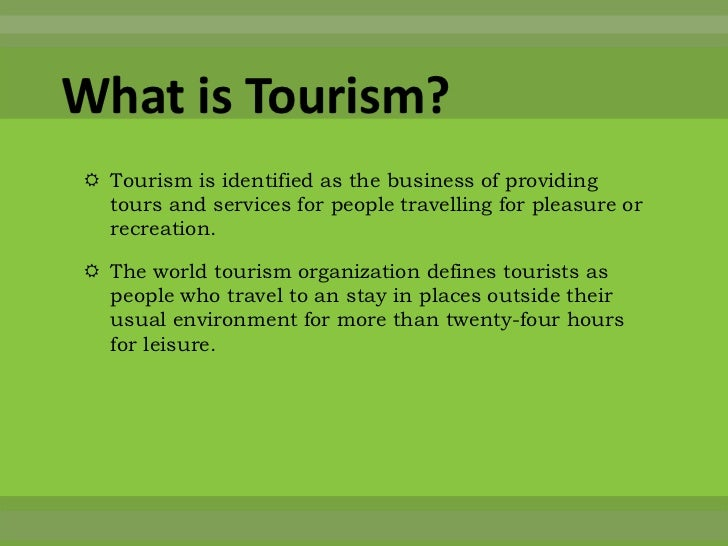 Importance of travel and tourism essay