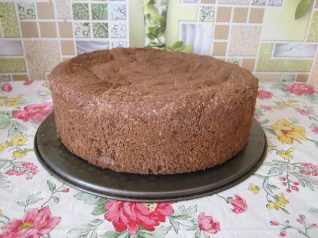 Быстрый и простой бисквит для торта рецепт с фото