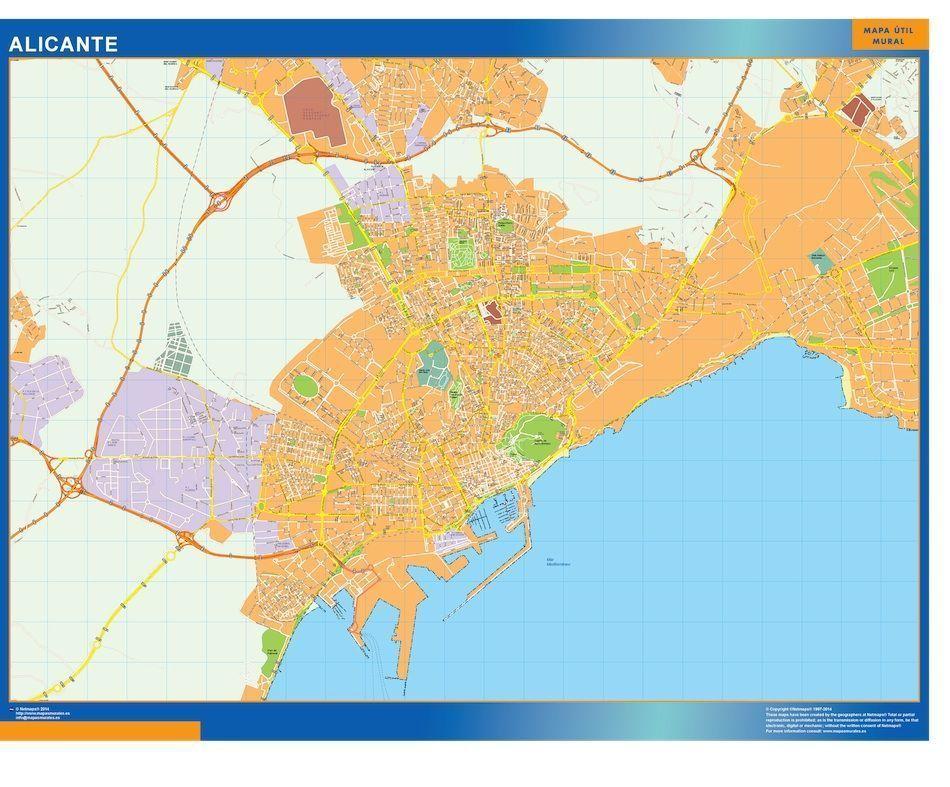 Районы аликанте на карте для покупки квартиры