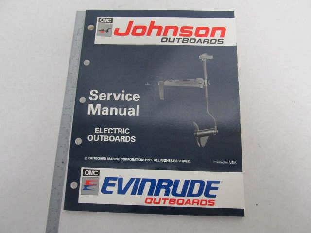 Johnson Outboard Manual - Evinrude Service Manuals