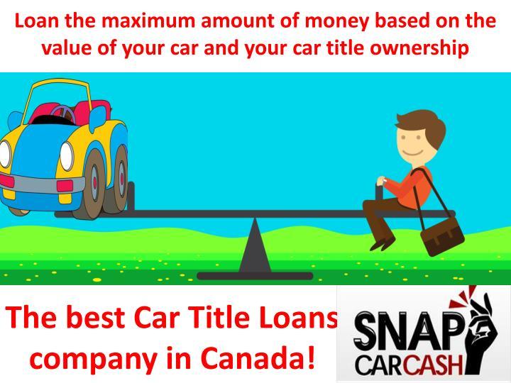 Winston salem title loans