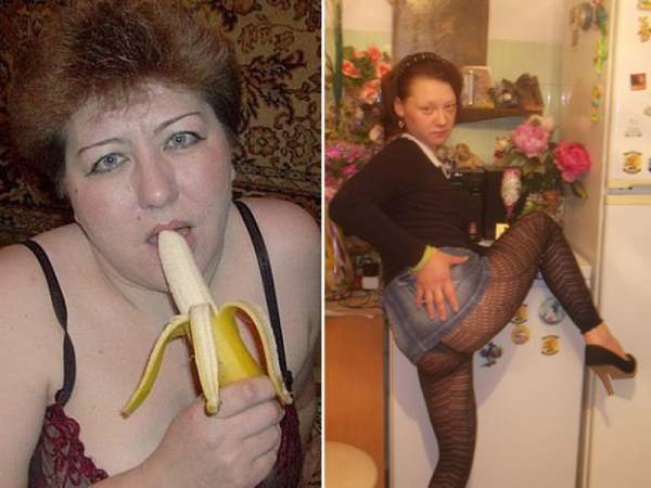 Weird russian dating site pictures