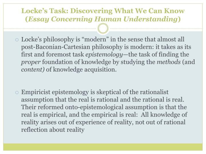 Buyphilosophical essays concerning human understanding