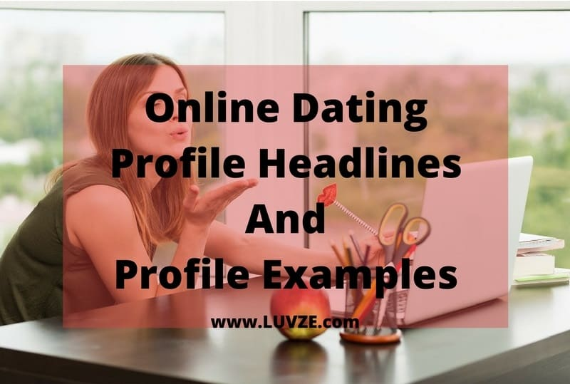 Write online dating profile examples