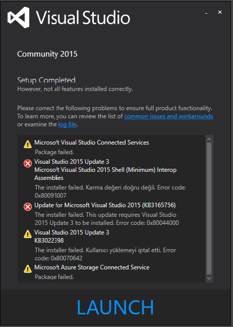 Microsoft Visual Studio 2015 Crack + Activation Key