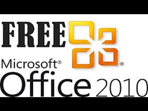 How to get Microsoft Office 2010 free full version - YouTube