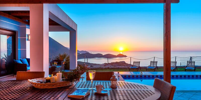 Апартаменты в остров Ретимно на берегу моря недорого до 50 000