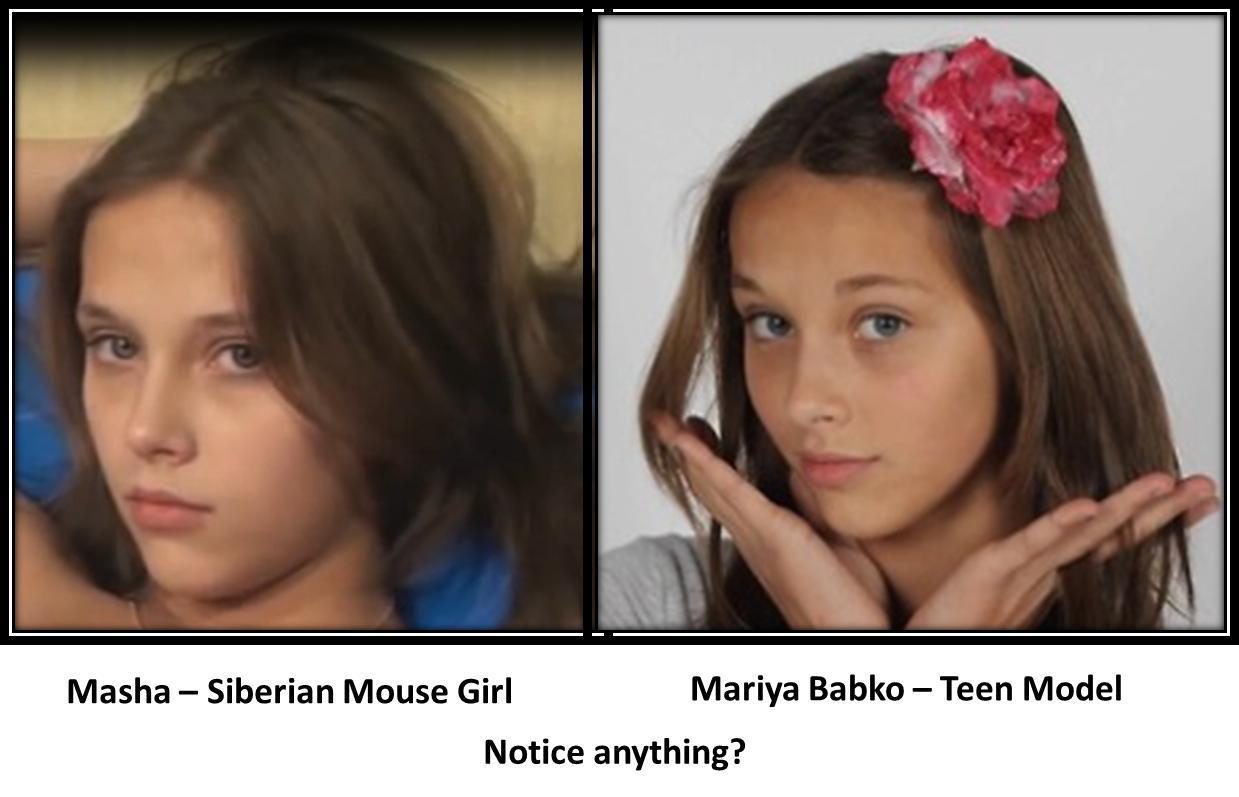 Seberian mouse masha babko nude