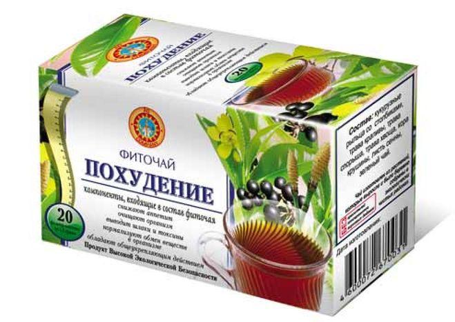 Дренажный чай для похудения в домашних