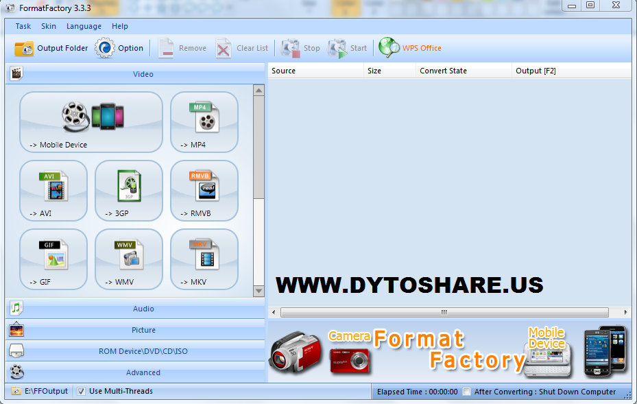 Format Factory Download Free for Windows 7, XP, Vista
