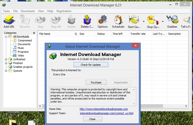 Internet Download Manager (IDM) 621 Build 14 Final