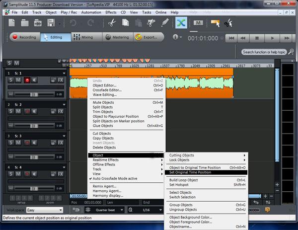 MAGIX Samplitude Pro X3 Suite 141 Free Download
