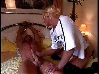 Triple penetration harness video porn vibrating