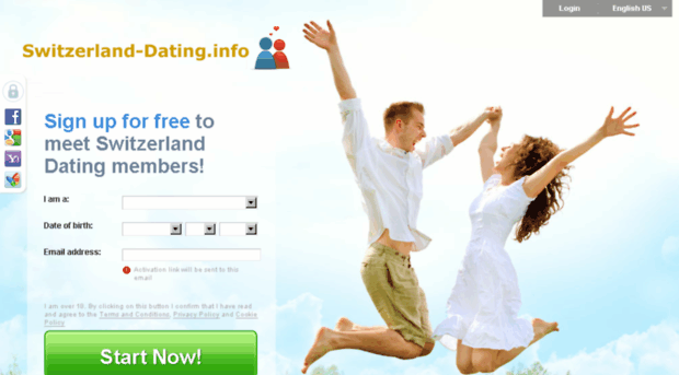 Expat Dating with expatdatingcom - Front page