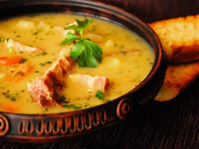 Гороховый суп с фаршем рецепт с фото