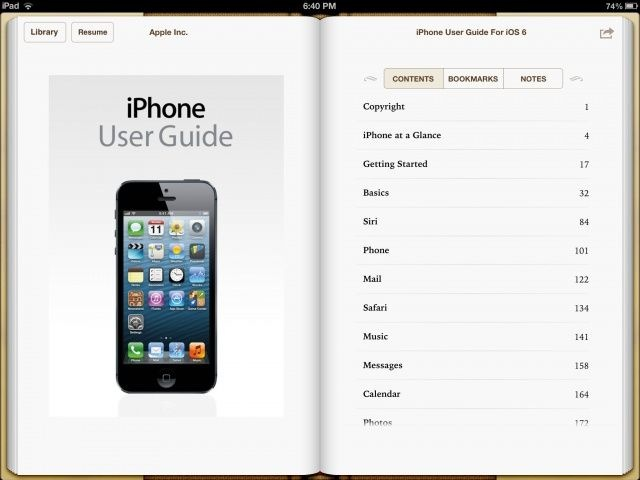 Iphone user guide for 6 s plus