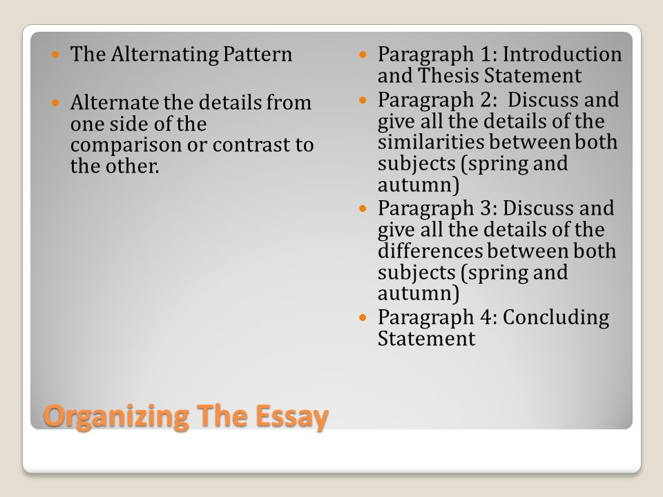 Compare and Contrast Essay: Topics, Examples - EssayPro