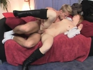 Asian girl squirting creampie close up
