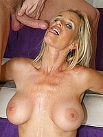 Lesbians sucking on big tits