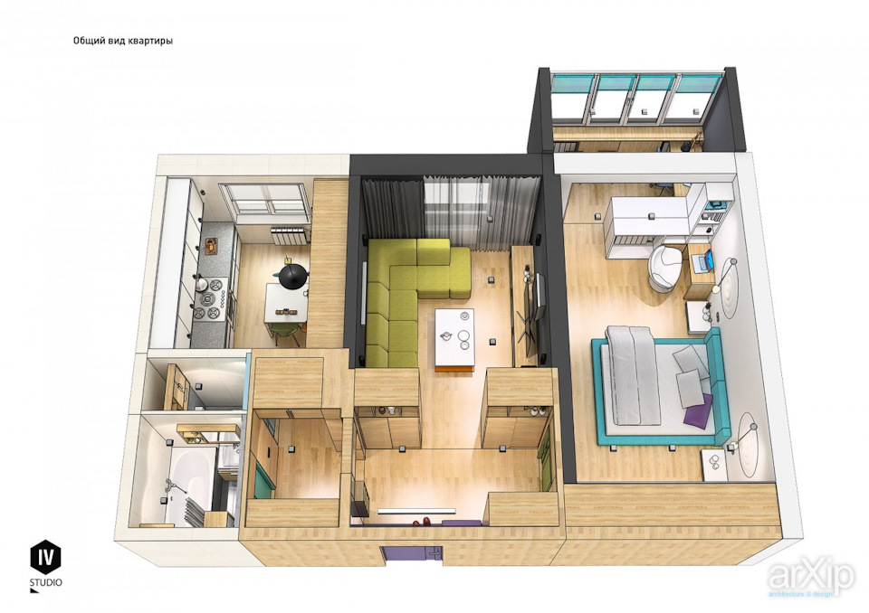 Квартиры в испании планировка