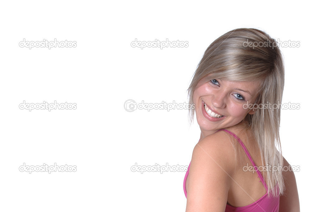 Blonde top black bottom hair