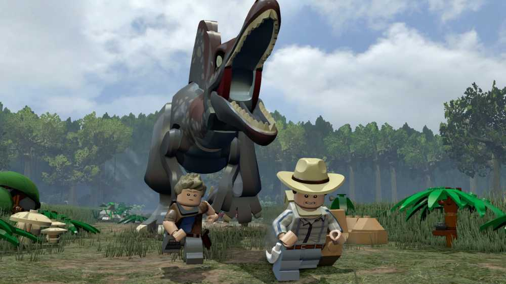 Games - Jurassic World LEGOcom