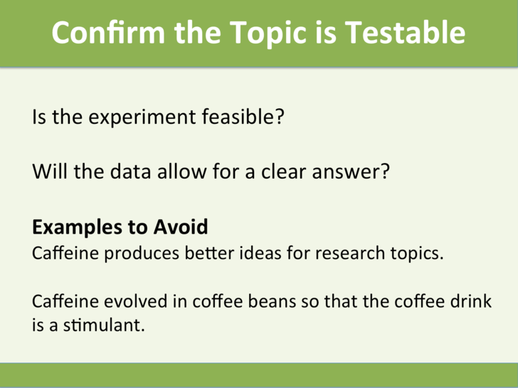Examples of testable and untestable hypothesis