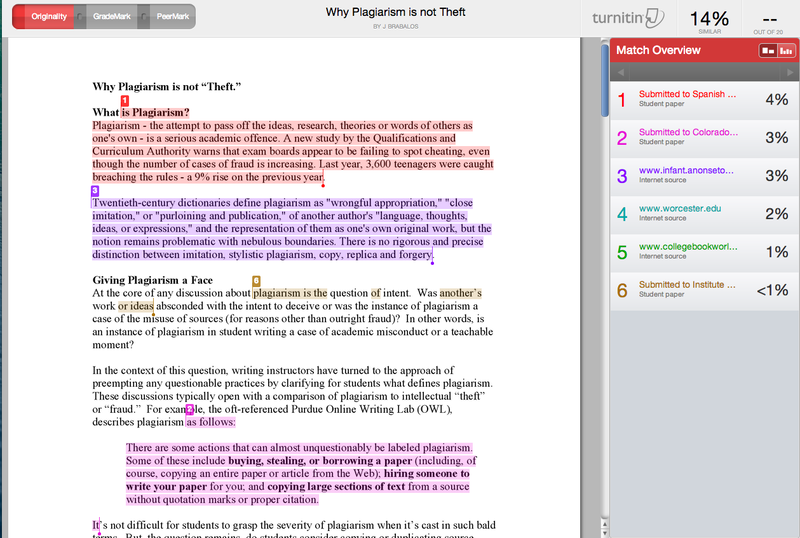 Plagiarism Spectrum - Paper for Educators and Students