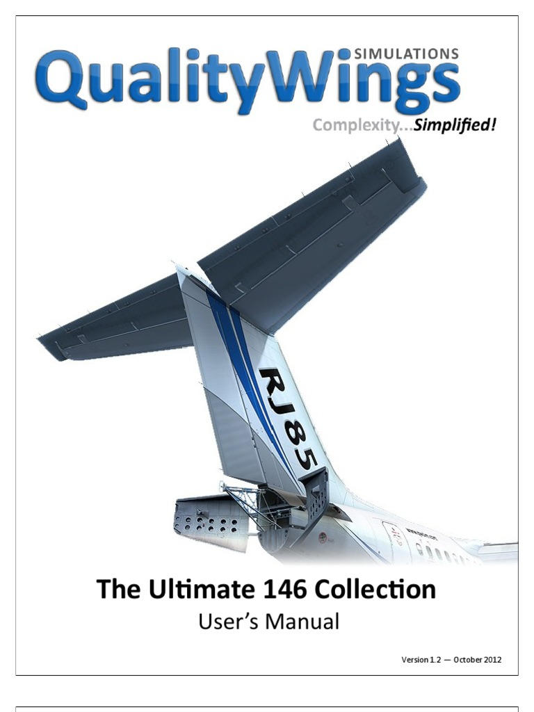QualityWings 757 Install P3D v30 - Position and Hold