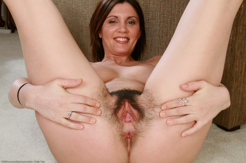Brunette free hairy mature