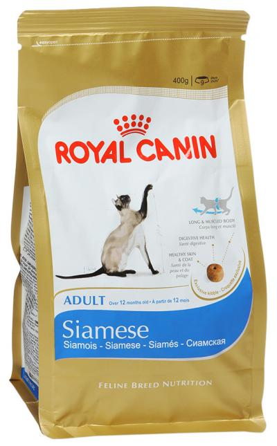 Корм royal canin siamese 10