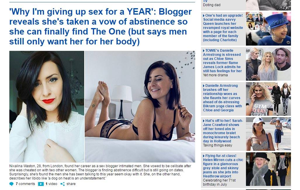 Daily mail online dating diaries