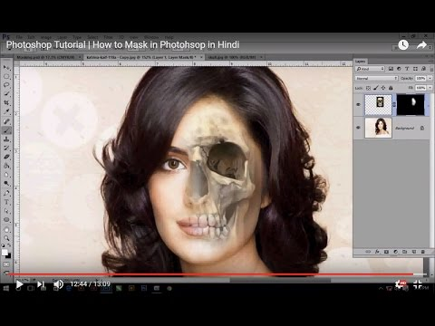 Refining a mask Masks and Channels in Adobe Photoshop