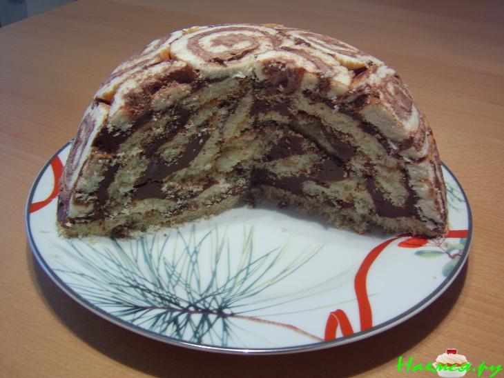 Быстрый торт из готовых коржей рецепт