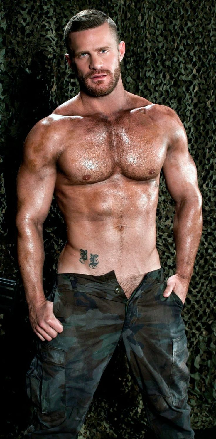 Men chest hairy hot